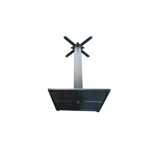RAL7016 square table base  for commercial use