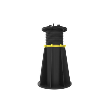 adjustable plastic pedestal for flat roof tiles