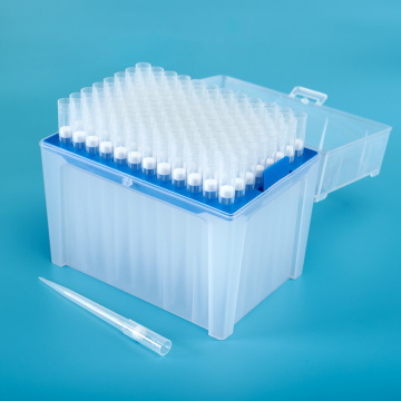 1000 UL Clear Blue Medical Disposable Pipette Tip