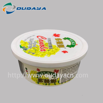 iml box Customized margarine Packaging Box butter Container
