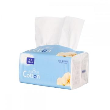 Virgin wood pulp recyclable 4 ply facial tissue