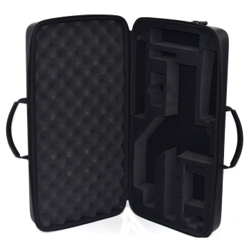 Waterproof hard big eva case with foam insert