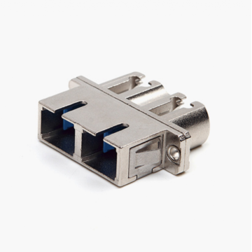 SC-LC Duplex SM Fiber Optical Adapter