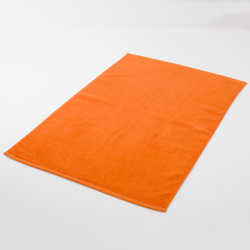 Luxury Orange Bath Mat Large Area Rugs Towel
