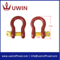 5/8'' Plastic Painting Red Screw Pin Shackle
