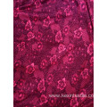 Knit cloth fabric flower girl dress reasonable price