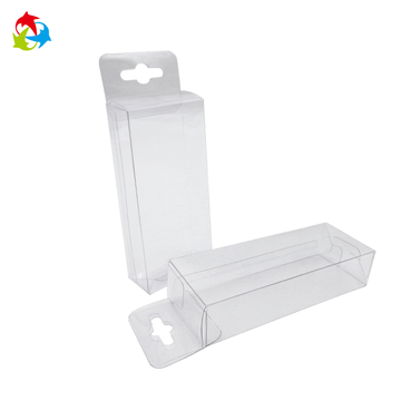 Custom candy sweet clear plastic box packaging
