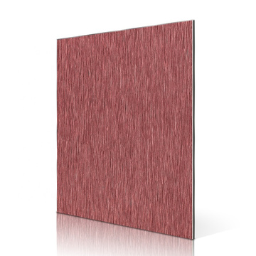 Brushed Color ACP Panel Finish