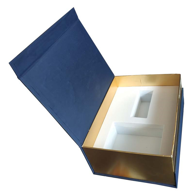the rotating pen clamshell gift box