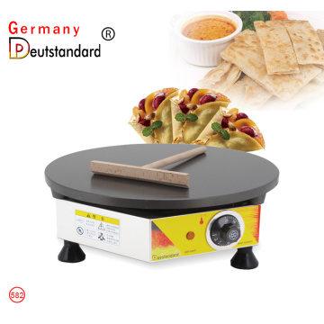 Electric Commercial Crepe Pancake making machine for sale