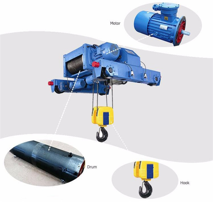 Crane use MD two-speed electric hoist