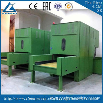 Automatic weighing ALKS-1300 cotton bale opener machine machine width 1.3m For geotextile