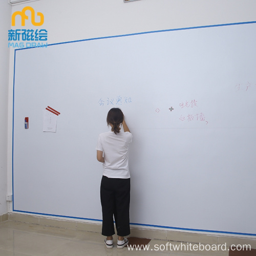 Turn Wall Into Whiteboard- Home Office Whiteboard