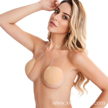 Invisible push up Round Silicone nipple cover