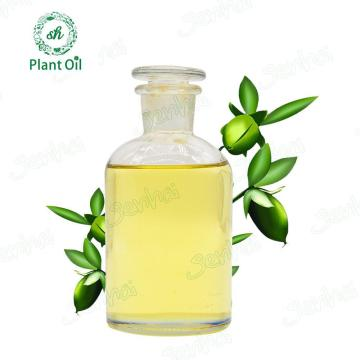 Wholesale cold natural golden jojoba oil