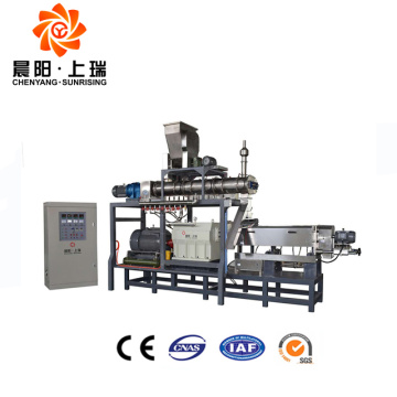 Breakfast cereals extruder corn flakes making machine