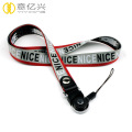 Custom jacquard design your own retractable lanyard