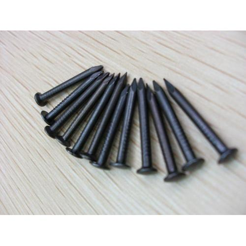 1.2mm Smooth Shank Bright Black Concrete Nail