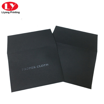 Black UV small envelope custom made