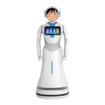 Bank Reception Service Robot