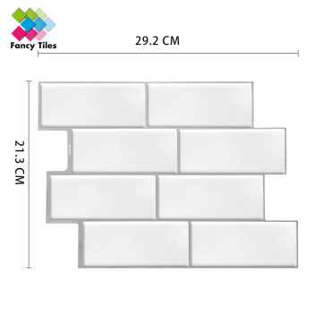 New vinyl bathroom wall tile stickers mosiac tiles