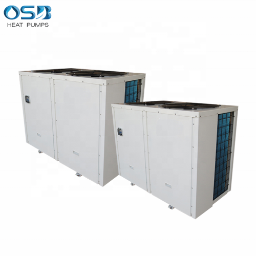 Cold climate heat pump air source heater