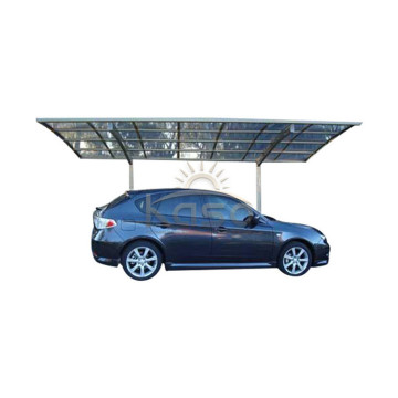 Polycarbonate Roof Two Car Canopy Metal Garage Carport