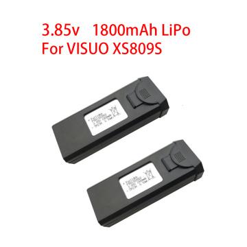 Original 3.85V 1800mAh Lipo Bettery For VISUO XS809s XS816 RC Quadcopter Drone Battery Spare Parts Accessories 3.7v battery