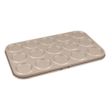 15 Holes Macaron Cookie Non-Stick Baking Tray