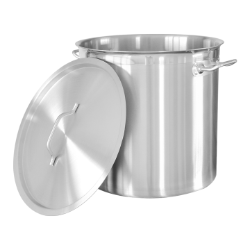 Stainless Steel Pot With Durable Bottom Tall Body