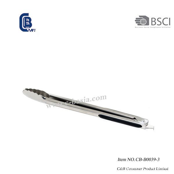 BBQ Stainless Steel Clever Kitchen Tongs