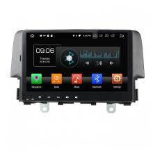 Android 8.0 car dvd player per CIVIC 2016-2017 cù pappagallo bluetooth