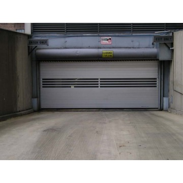 CE Certificated Metal Fast Spiral Door