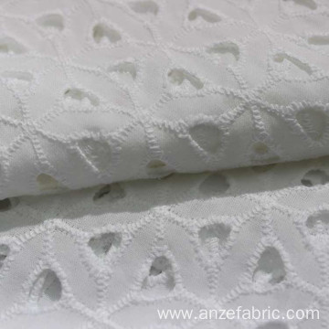 100 cotton embroidery fabric white with cut