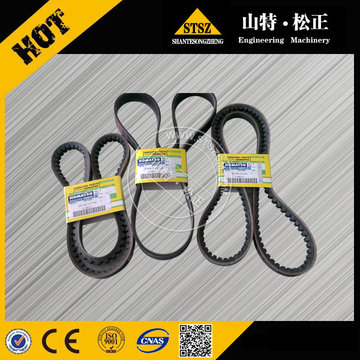 Excavator PC200-7 air conditioner V-belt 04120-21748