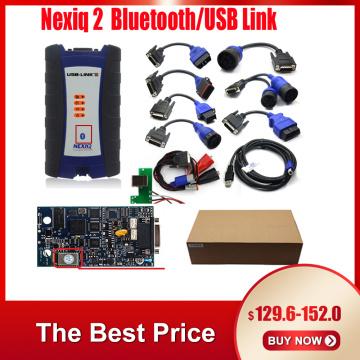 USB Bluetooth Diesel Truck OBD Fault Diagnostics Detector for NEXIQ 2 USB Link Truck Diagnostic Scanner