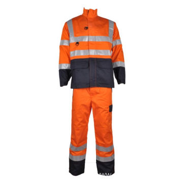 worker fire retardant overalls boiler suit