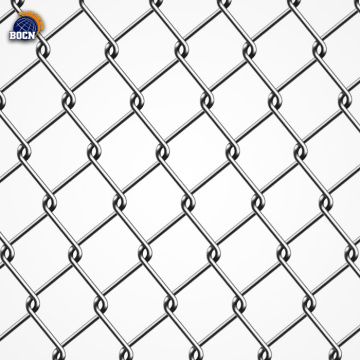 Chain link fence diamond wire mesh garden