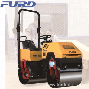 Indonesia Mini Vibratory Roller 1 ton Steel Drum Asphalt Road Roller for Sale With Good Price(FYL-880)