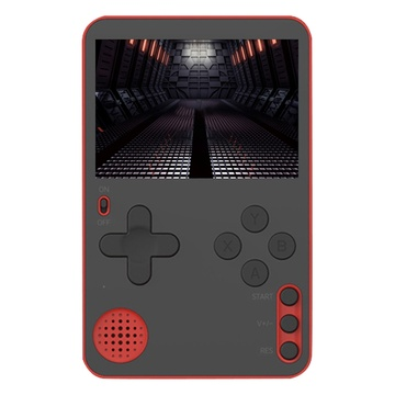Handheld Game Console Retro Game Ultra-Thin Game Console Portable Retro Video Game Console with Built-in 500 Classic Games