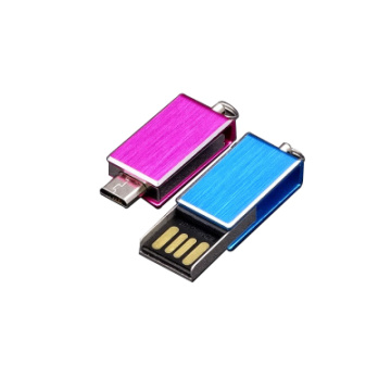 Mini Swivel OTG USB Flash Drive Custom