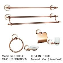 Towel Bar Set with Towel Holder Hook Toilet Paper Holder Bathroom Hardware Set