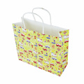 Kraft Paper Shopping Bag Handle Gift Paper Bag