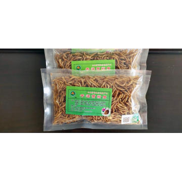 stable quality dried mealworms