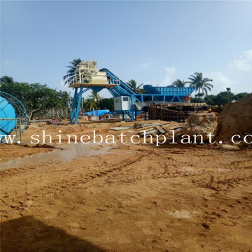 Sri Lanka  Mobile Concrete Bathing Plant
