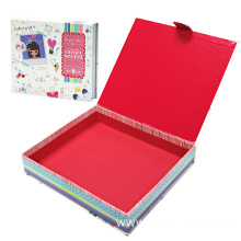 Custom Design CMYK Printing Lovely Book Shaped Box