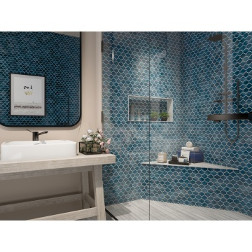 Tear of lover Mosaic Tile Emerald Mosaic Tile