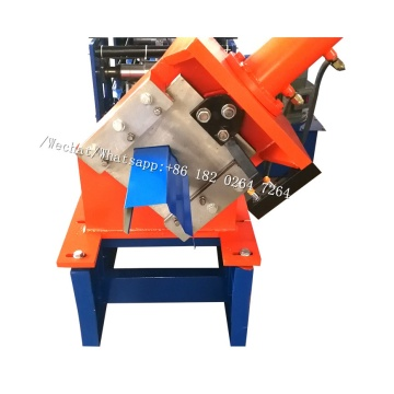 K-Style Roof Gutter Roll Forming Machine