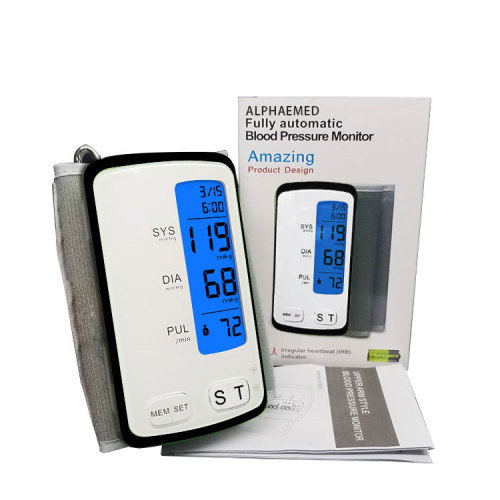 BSCI Approval Portable Slim Arm Blood Pressure Monitor