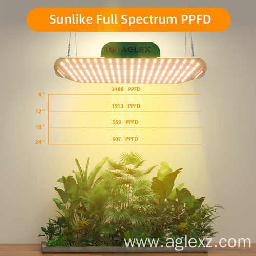Full Spectrum LED Grow Lights for Vegetables